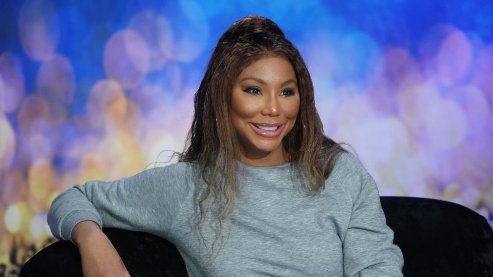 Tamar Braxton in the diary room on Celebrity Big Brother 2