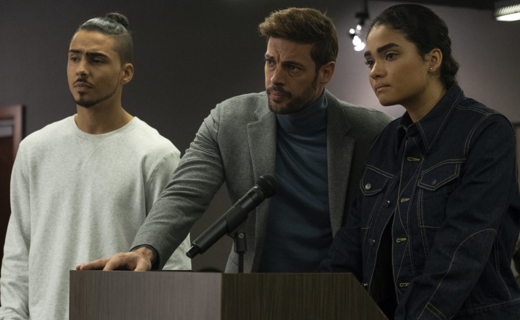 Derek, Mateo, and Simone making their pitch for immigration rights on STAR.