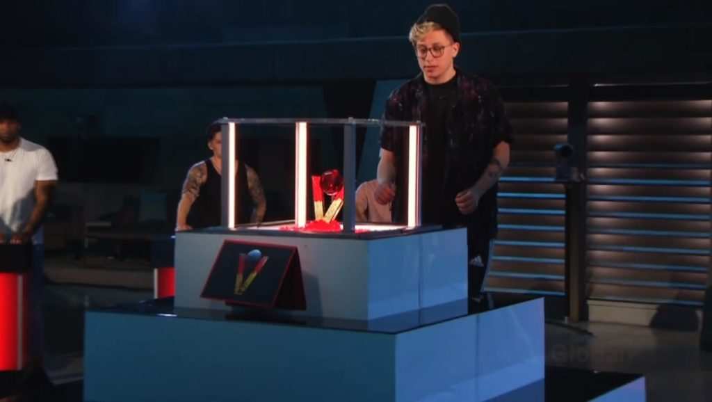Kyra wins the Blood Power of Veto on Big Brother Canada 7