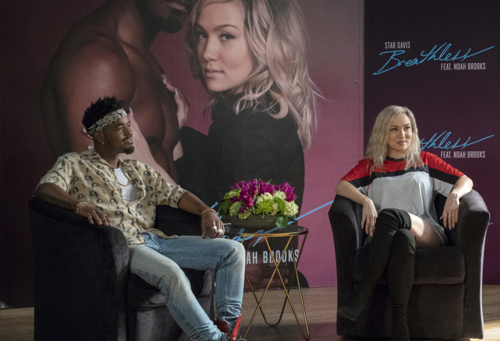 Noah and Star at their interview on STAR