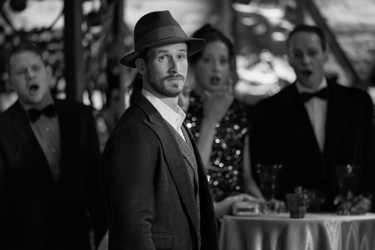 Liam portrays a detective on Dynasty