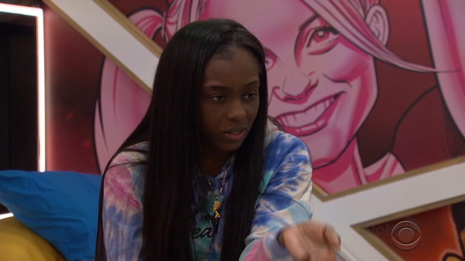 Da'Vonne hears David talk about men's alliance on Big Brother: All-Stars