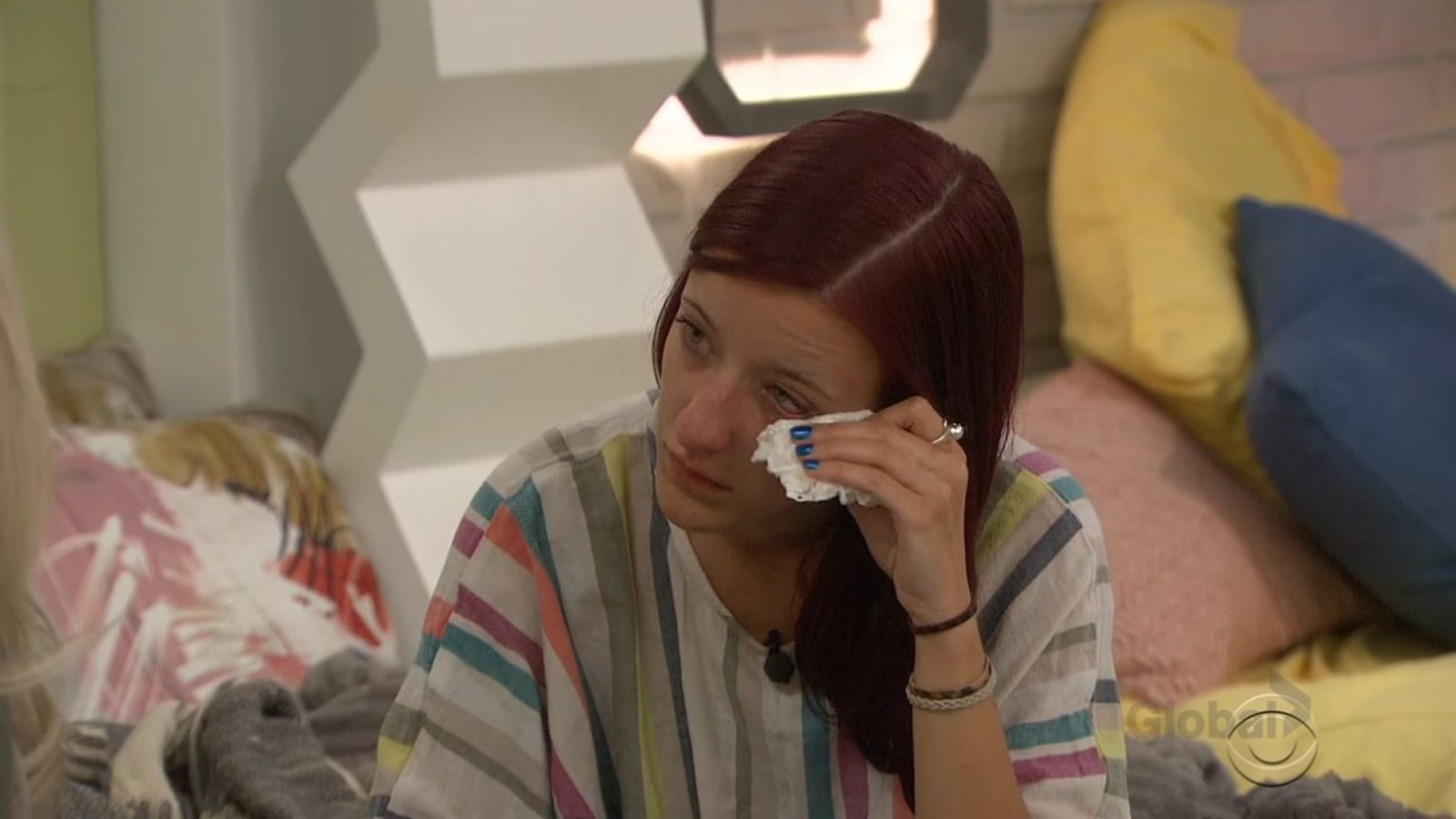 Nicole Anthony cries about being nominated on Big Brother: All-Stars