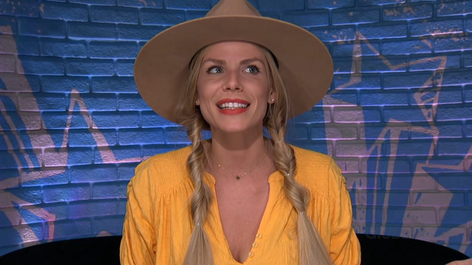 Daniele talking about Janelle in the Diary Room on Big Brother: All-Stars