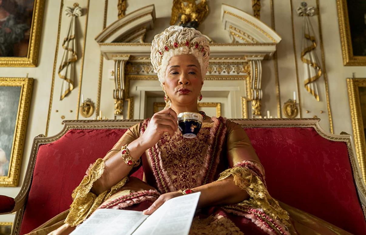 Queen Charlotte on Bridgerton