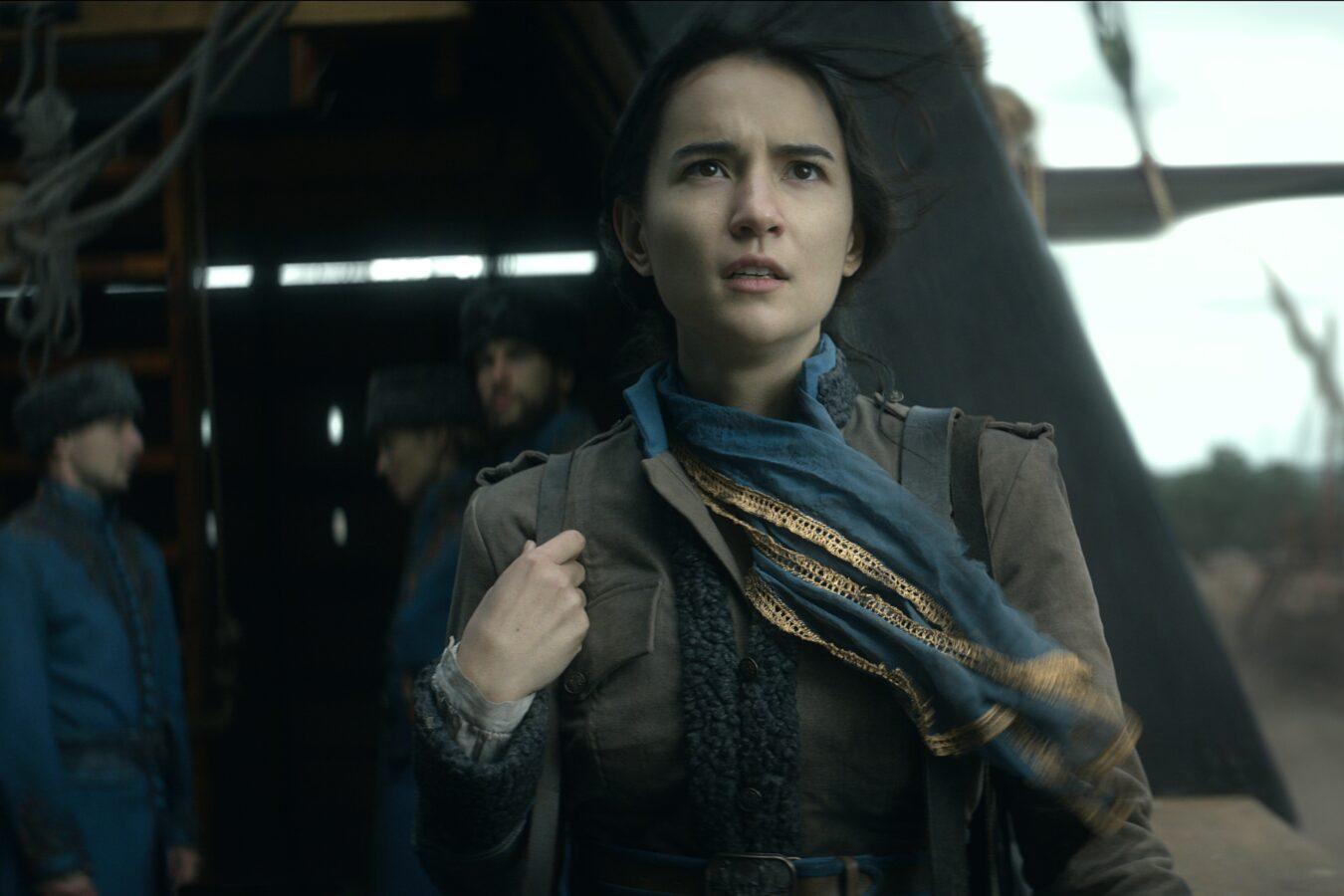Jessie Mei Li as Alina Starkov of Shadow and Bone.