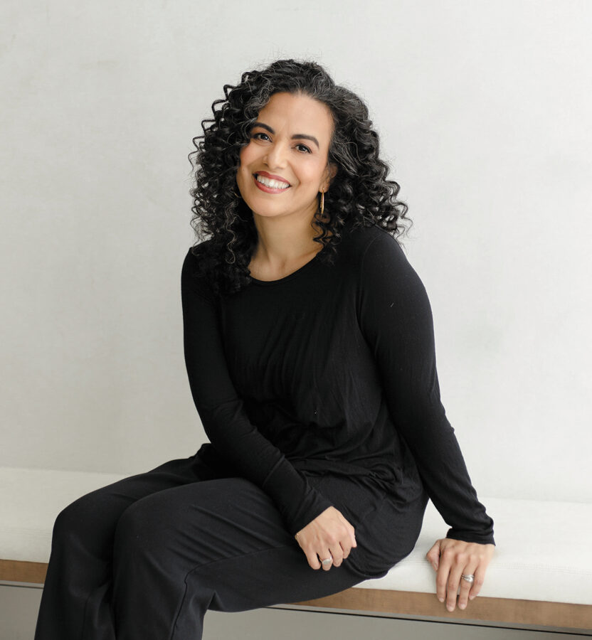 Photo of Monica Gomez-Hira, author of Once Upon a Quinceanera