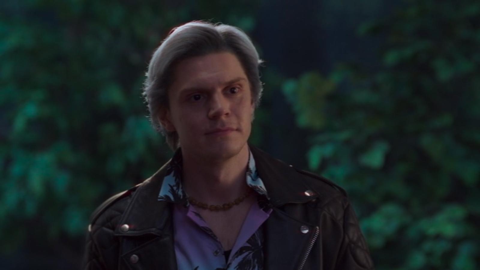 Evan Peters as Quicksilver in WandaVision