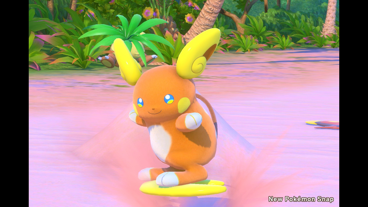 Picture taken in the video game New Pokémon Snap.