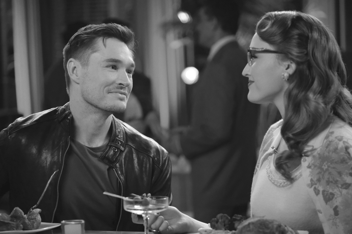 Adam and Kirby in the sitcom dream on Dynasty