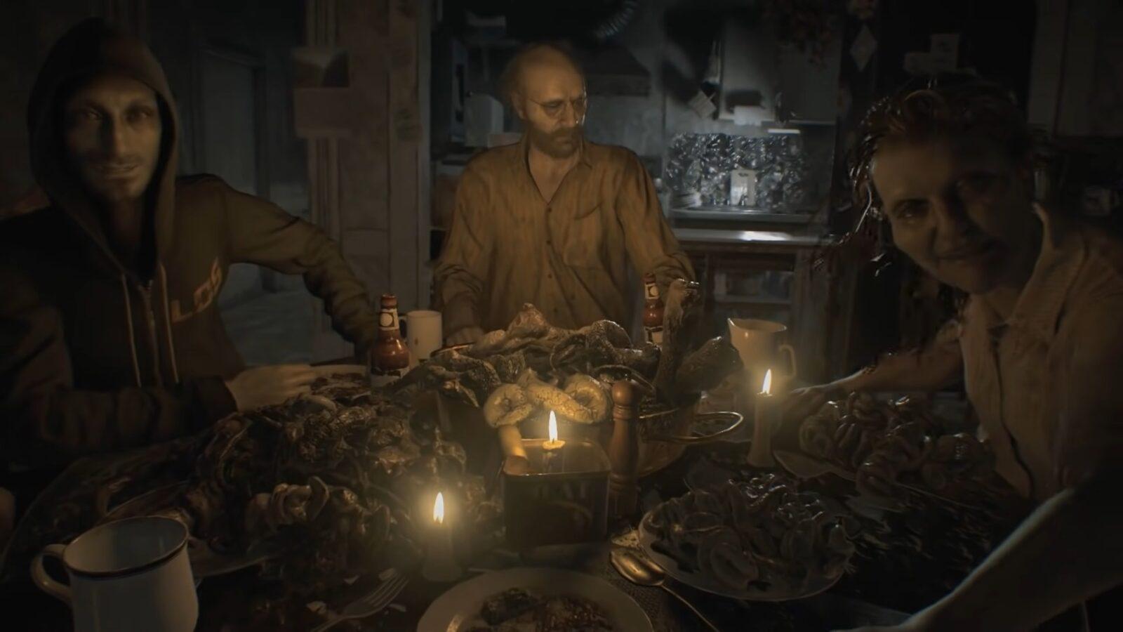 The Baker Family Resident Evil 7 Biohazard