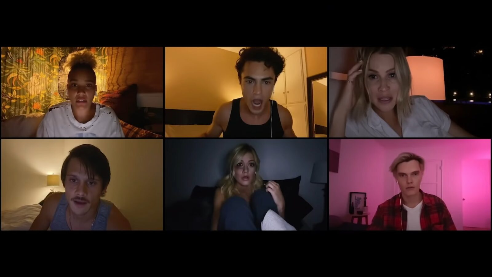 The cast of Untitled Horror Movie