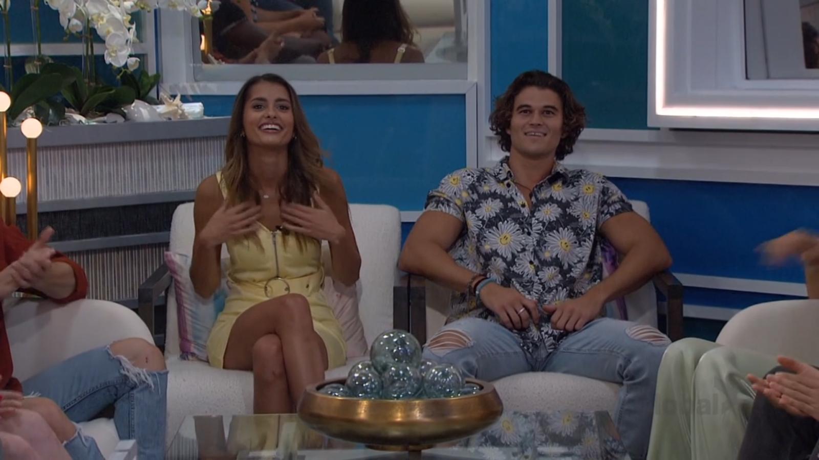 Travis and Alyssa Nominated Big Brother 23