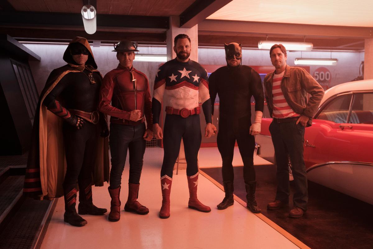 The original Justice Society of America on DC's Stargirl